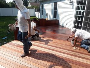 Residential Deck Staining in Boston, MA (1)