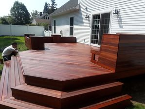 Residential Deck Staining in Boston, MA (2)
