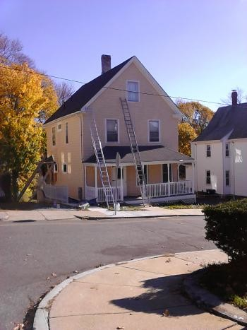 Below is an amazing transformation of a Roslindale, MA house