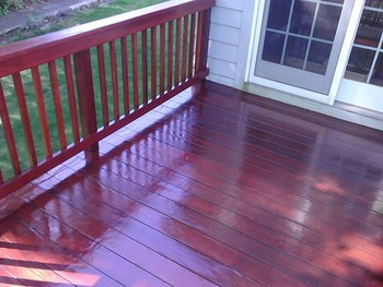 Deck Staining in Lexington, MA